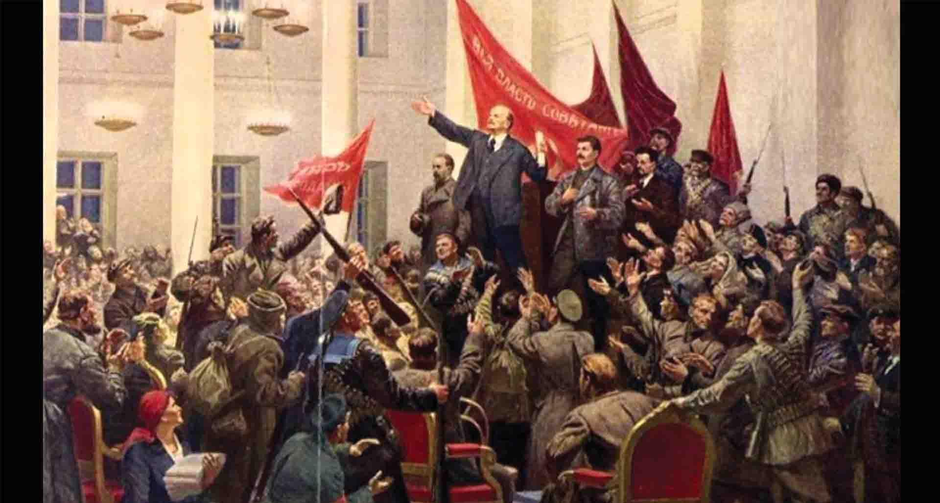 انقلاب اکتبر و بلشویسم فرهنگی له یا علیه روشنفکران